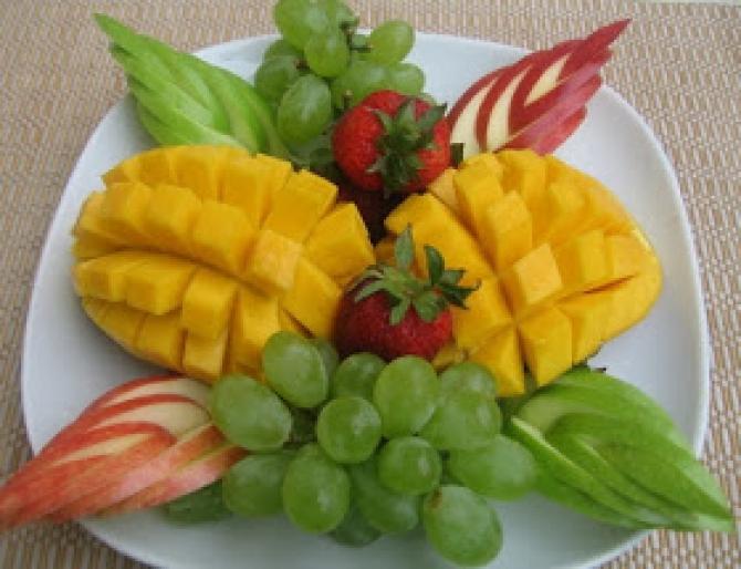 Tổng hợp 35 cách bày dĩa trái cây đẹp mắt, dễ làm