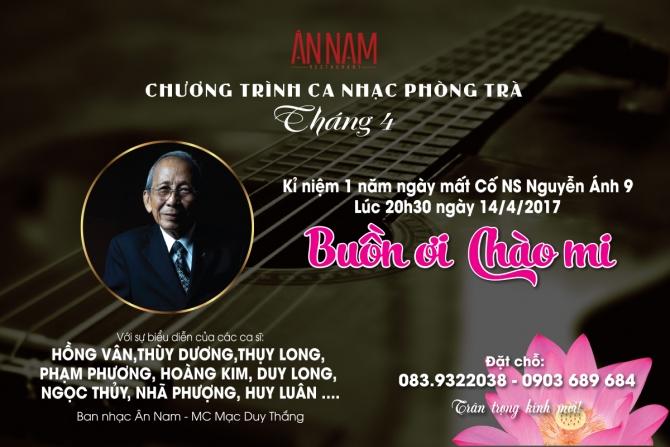 Nhạc sĩ Nguyễn Ánh 9: Một phím ngà tử tế