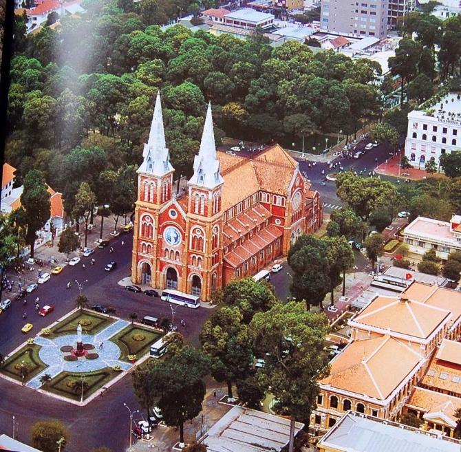 Nhà thờ Đức Bà Sài Gòn: Kiệt tác trăm năm của kiến trúc Pháp