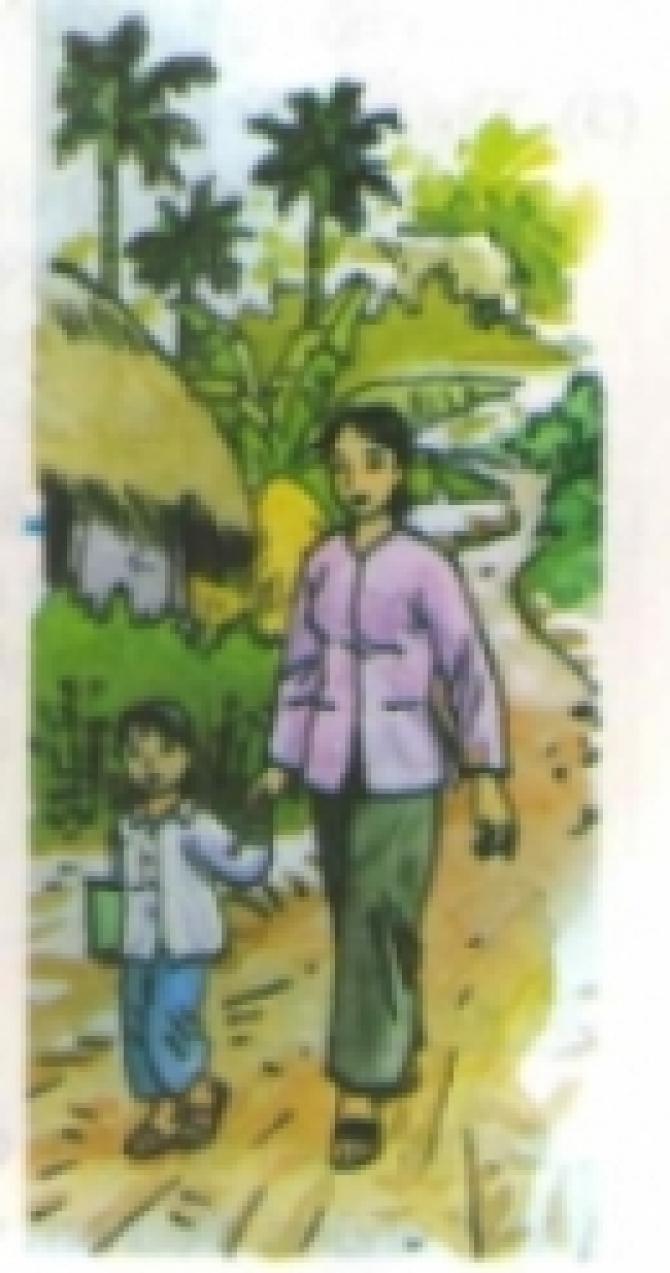 Truyện ngắn Thanh Tịnh : TÔI ĐI HỌC