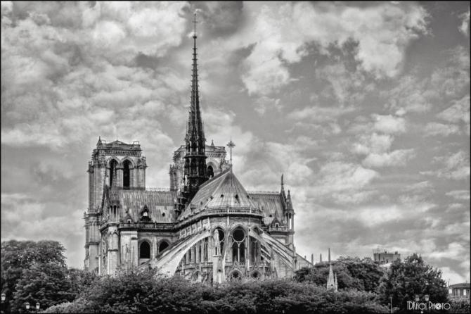 Nhà thờ Đức Bà hơn 850 năm tuổi ở Paris