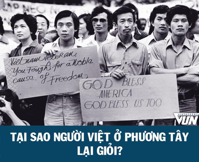 Tại sao người Việt ở phương Tây lại giỏi ?