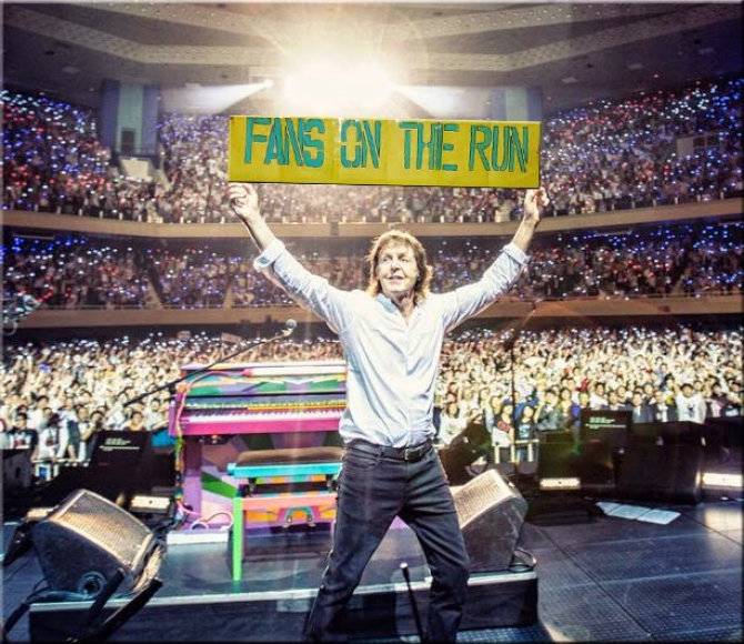 Paul McCartney và Fans On The Run